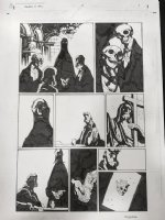 Hellboy in Hell #6 p.5 - 2014 Signed Comic Art