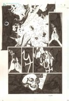 Hellboy in Hell #4 p.2 - Hellboy Trapped in the Abyss - 2013 Signed Comic Art