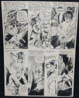 Adult and Little Girl Heroes vs. Demon p.3 Comic Art