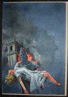 IT  Monster movie w/Roddy Mcdowll 1967 paperback cover  Comic Art