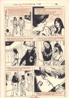Young Love #112 p.18 - High School Romance End Page - 1974 Comic Art