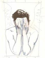 1996  Poly  - NEED INFO (10 x 13 ) Comic Art