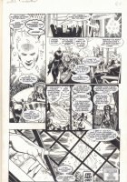 Elvira ''The Haunting'' p.28 - Seance End Page - Signed Comic Art