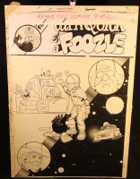 Cap'n Quick & a Foozle #2 Cover - LA - 1985, Seller: Anthony's Comicbook Art, Price $750