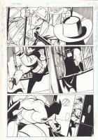 Batman Adventures #9 p.11 - Batman takes out a Thug - 1993 Comic Art