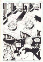 Batman Adventures #9 p.14 - Batman in Rupert Thorne's Mansion - 1993 Comic Art