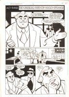 Batman Adventures #36 p.15 - Rupert Thorne and Hugo Strange - 1995 Comic Art