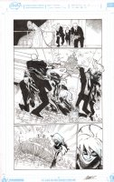 Amazing Spider-Man #17 p.17 - Black Cat Action - 2015 Comic Art