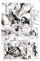Amazing Spider-Man #18 p.9 - Spidey vs. Ghost Action - 2015 Comic Art