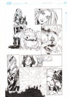 Extraordinary X-Men #10 p.6 - Magik & Sapna - 2016 Comic Art