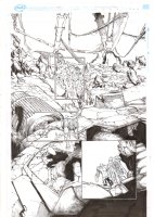 Extraordinary X-Men #10 p.10 - Cerebra Sentinel, Anole, & Glob Herman - 2016 Comic Art