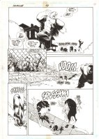 Impulse #13 p.11 - Impulse Rescue from Guard Dogs - 1996 Comic Art