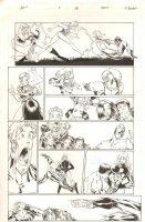 Gen 13 #9 p.15 - Great Team & Sexy Robot Action - 1996 Comic Art