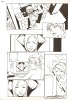 SpyBoy #6 pg 6 , Seller: Anthony's Comicbook Art, Price $TO BE POSTED