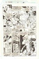 Doctor Strange, Sorcerer Supreme #47 p.14 - Counter Earth Doctor Strange 1/2 Splash - 1992 Comic Art