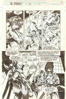 Doctor Strange, Sorcerer Supreme #56 p.17 - Astral Strange 1/2 Splash - 1993 Comic Art
