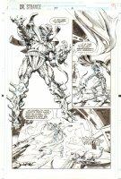 Doctor Strange, Sorcerer Supreme #57 p.5 - Aliens - 1993 Comic Art