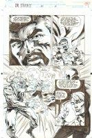 Doctor Strange, Sorcerer Supreme #57 p.19 - Strange Action - 1993 Comic Art