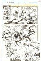 Doctor Strange, Sorcerer Supreme #58 p.6 - Sancta Sanctorum - 1993 Comic Art