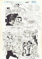 Doctor Strange, Sorcerer Supreme #40 p.28 - Clea and Daredevil - 1992 Comic Art