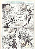 Doctor Strange, Sorcerer Supreme #47 p.21 - Doctor Strange vs. Counter Earth Doctor Strange and Rintrah - 1992 Comic Art