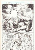 Doctor Strange, Sorcerer Supreme #53 p.9 - Doctor Strange Action Splash - 1992 Comic Art