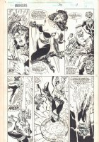 Avengers #370 p.11 - Sersi Action - 1994  Comic Art