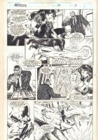 Avengers #370 p.13 - Sersi - 1994  Comic Art