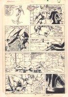 Dazzler #36 p.10 - Dazzler vs. Tatterdemalion in the Sewer - 1985 Signed Comic Art