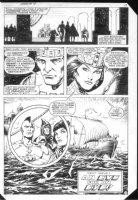 Arak #18 p.16 end pg. Splashy Comic Art