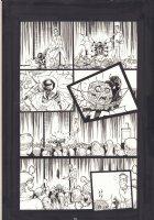 Spawn Kills Everyone #1 p.21 - Little Spawn wins the Comic Con Costume Contest - Todd McFarlane App - 2016 Comic Art