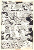 Teen Titans #46 p.10 - Robin, Kid Flash, & Wonder Girl  - 1977  Comic Art