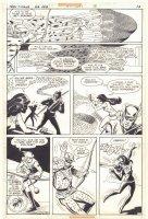 Teen Titans #46 p.13 - Speedy, Kid Flash, & Wonder Girl - 1977  Comic Art