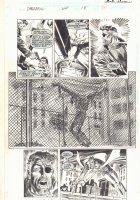 Daredevil #344 p.26 - Nick Fury has the Punisher at Gunpoint - Daredevil App - 1995  Comic Art