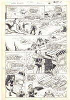 Super Powers #2 p.12 - Darkseid's Prison Asteroid - 1986 Comic Art