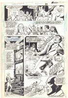 Super Powers #2 p.16 - Orion, Mr. Miracle, Superman, Batman, Wonder Woman, and Cyborg - 1986 Comic Art