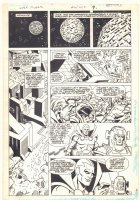 Super Powers #2 p.7 - Orion and Mr. Miracle on Apokolips - Kirby's 4th World - 1986 Comic Art