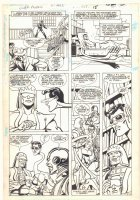 Super Powers #2 p.11 - Origin of Plastic Man - Cyborg - 1986 Comic Art
