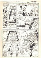 Super Powers #2 p.18 - Mr. Freeze and Tyr Action - Kirby's 4th World - 1986 Comic Art