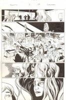 Inhumanity #1 p.29 - Captain America, Iron Man, Spider-Woman, Medusa, & Black Panther - 2014 Comic Art