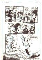Preacher #33 p.4 - Cassidy Decapitated - Written by Garth Ennis - 1996 Comic Art