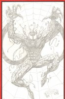 Carnage Pencil Commission - 2008 Signed Comic Art