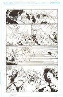 Grifter #11 p.5 - Action vs. Synge - 2012 Double Signed Comic Art