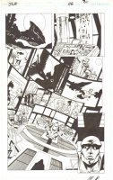 Justice League of America #116 pg 21 - Martian Manhunter in Watch Tower - Whole JLA Comic Art