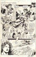 Green Lantern #90 pg 18 - Great GL - signed (1997) Comic Art