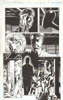 Batman Beyond #8 pg 18 -  Comic Art