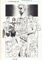 Last Days of Animal Man #6 p.12 - Superman, Nightwing, Power Girl, and the Flash - 2009 Comic Art