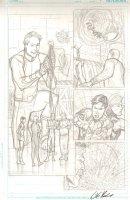 Legion of Super-Heroes #? pg 7 - Pencil Art Comic Art