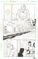 Booster Gold #41 p.19 - Booster in Prison - 2011 Signed Comic Art
