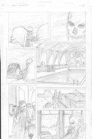Skull & Bones #3 p.11 - In costume - signed  Comic Art